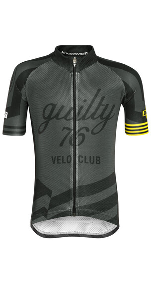 guilty 76 racing Velo Club Pro Race Jersey Kids Black Edition
